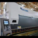 Presse plieuse CNC à 4 axes 175 couronnes motorisées CNC 4000 mm