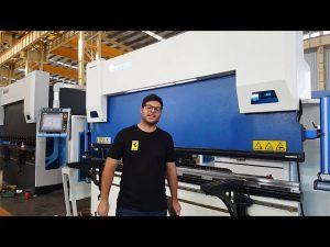 Presse-plieuse CNC à 6 axes Euro Pro B32135 avec système de serrage Wila par le biais de clients australiens