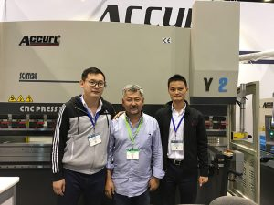 Accurl a participé à l'exposition de machines-outils et d'automatisation industrielle de Chicago en 2016