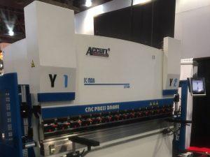 Accurl a participé à l'exposition de machines de Las Vegas aux États-Unis en 2016
