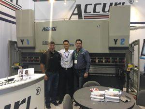 Accurl a participé à l'exposition américaine en 2017