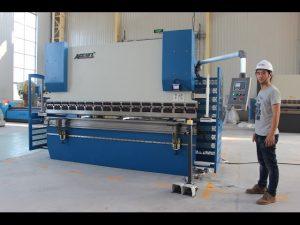 Presse plieuse CNC 2 axes 130Tx3200 E200 NC Système de contrôle NC Presse plieuse