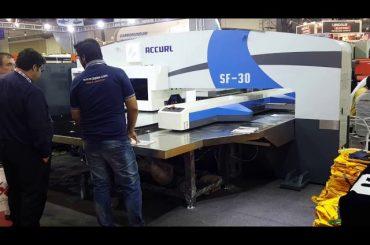 Machine de poinçonneuse hydraulique à tourelle cnc servo de haute qualité
