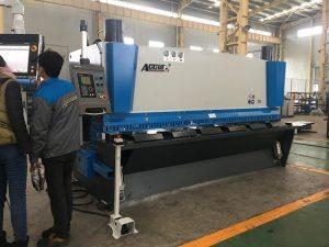 Machine à guillotine hydraulique MS8-8x3200 avec système de support de feuilles