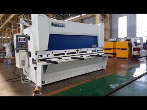 Cisaille guillotine à râteau variable avec système CNC ELGO P40T