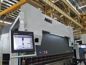 Delem DA52 hydraulique machine à cintrer, positionnement horizontal presse plieuse prix précis, fer d'angle cnc