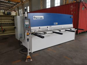 machine de cisaillement cnc de plaque d'aluminium