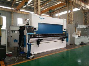 machine automatique de frein de presse de 600 tonnes, bélier guidé de machine à cintrer de tôle