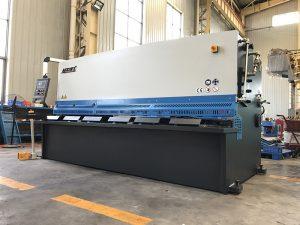 bonne qualité machine de cisaillement hydraulique cnc pour plaque de fer