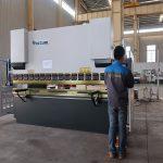 presse hydraulique de presse de tôle hydraulique de promotion WC67Y, machine à cintrer pour le profil en aluminium