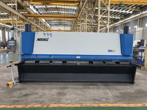 machine de cisaillement hydraulique de tôle de vente chaude (QC11Y-16X3200)