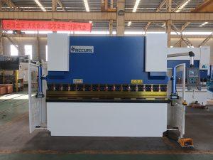 machine de presse plieuse NC hign speed en acier avec commande NC estun e21