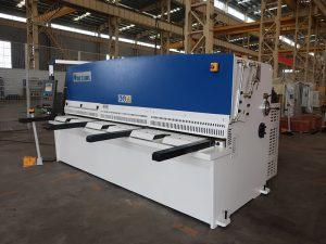 haute précision de coupe QC12Y 4x2500 tôle machine de cisaillement en acier machine hydraulique cisaillement