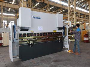 petite machine à cintrer portative de haute qualité de commande numérique par ordinateur de 30 tonnes, instock de frein de petite presse
