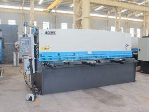 Guillotine hydraulique de la CE, machine de cisaillement de tôle hydraulique de commande numérique par ordinateur de vente chaude d'usine